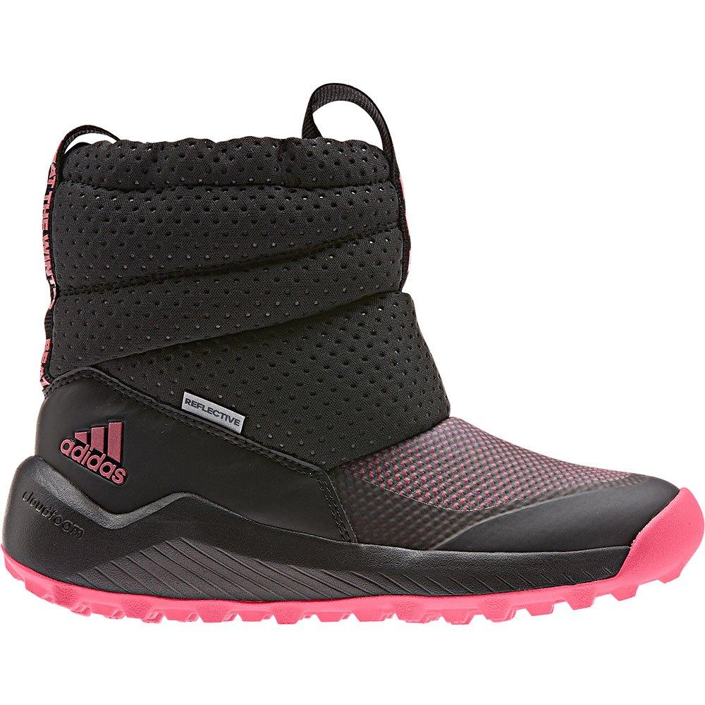 Adidas Rapidasnow Children EU 29 Core Black / Real Pink / Ftwr White