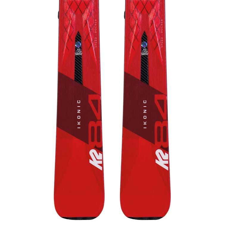 K2 Ikonic 84+M3 12 TCX Light Quikclik Red, Snowinn
