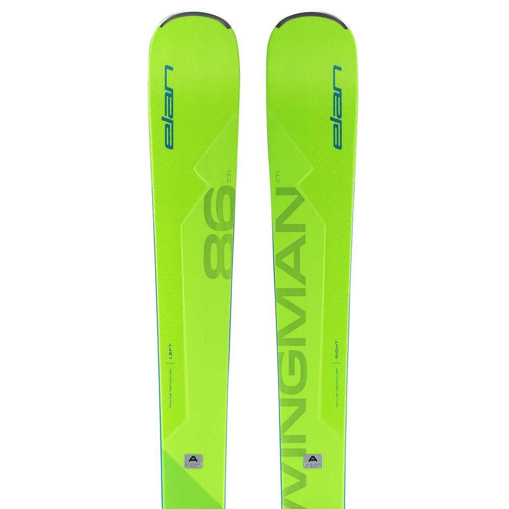 Elan Wingman 86 CTI FX+EMX 12.0 Green buy and offers on Snowinn