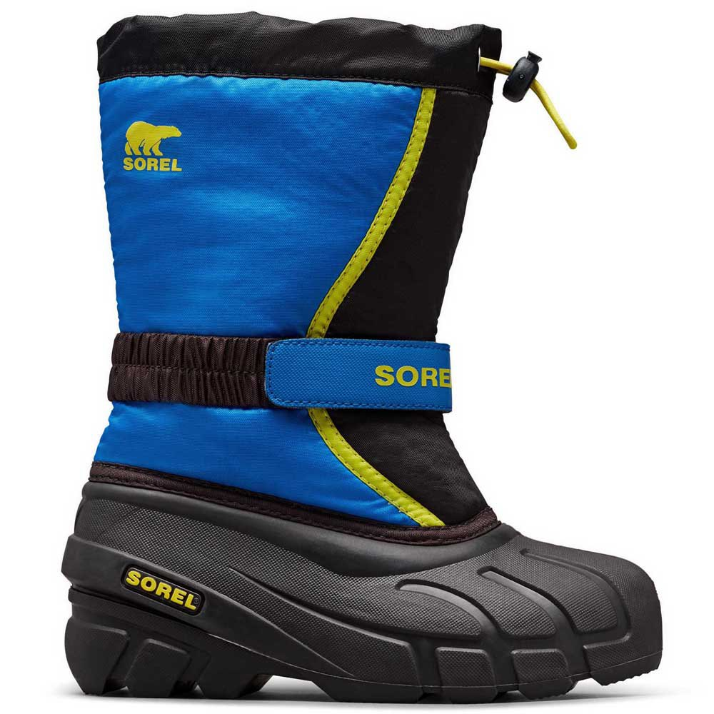 schneestiefel-sorel-flurry-youth-eu-39-black-super-blue, 42.99 EUR @ snowinn-deutschland