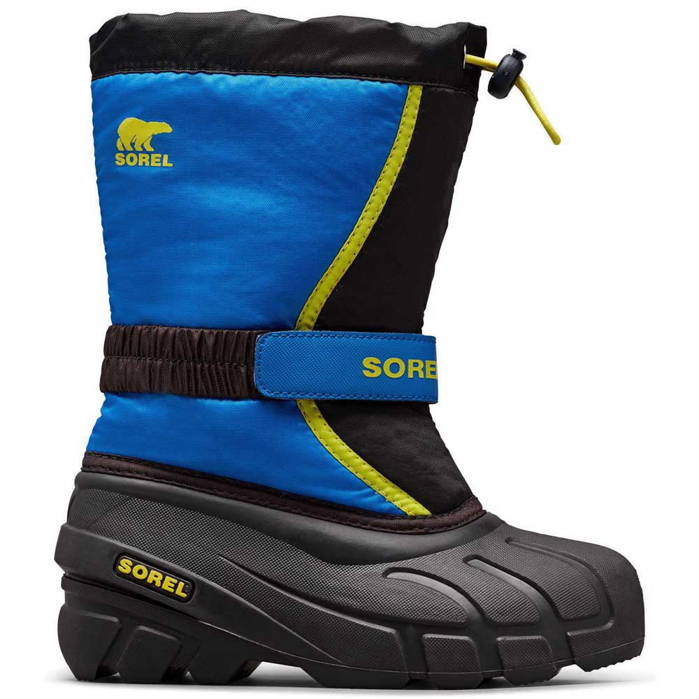 schneestiefel-sorel-flurry-children-eu-30-black-super-blue, 42.99 EUR @ snowinn-deutschland