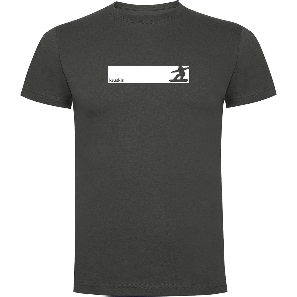 t-shirts-kruskis-snowboarding-frame-s-dark-grey