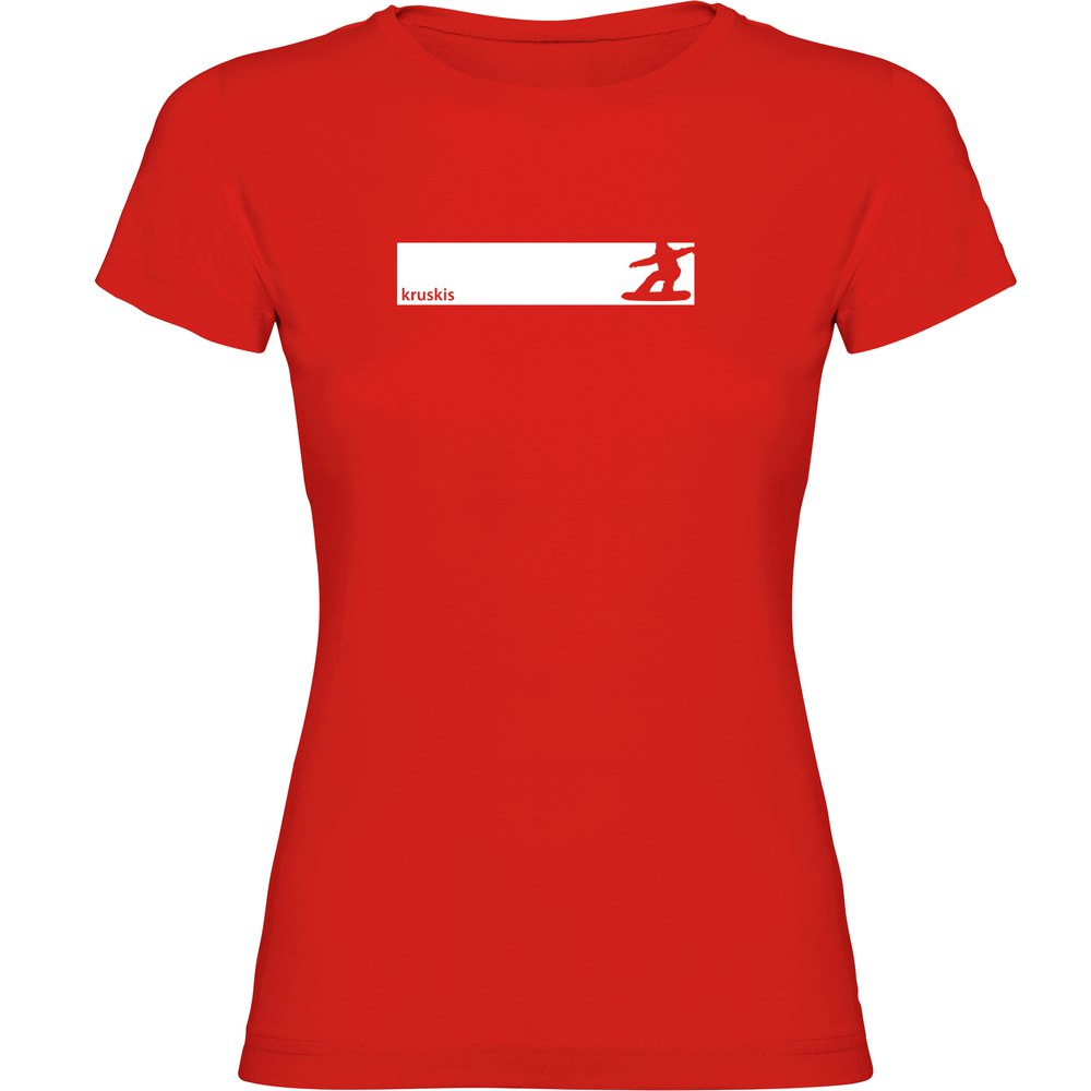 t-shirts-kruskis-snowboarding-frame-s-red