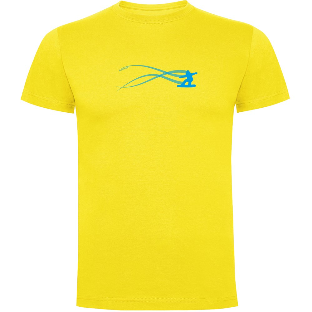 t-shirts-kruskis-snowboarding-estella-s-yellow