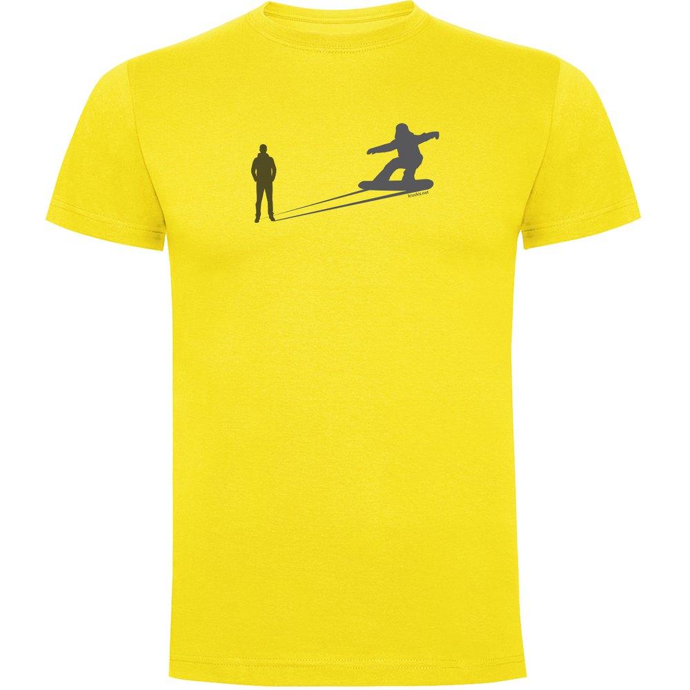 t-shirts-kruskis-snowboarding-shadow-s-yellow
