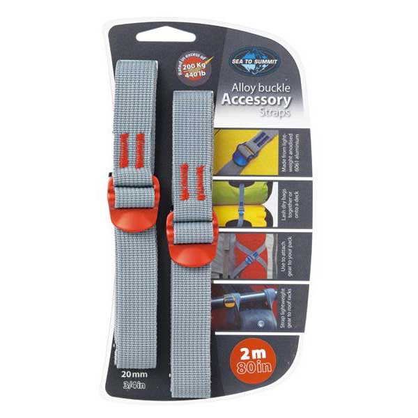 Sea to summit Tie Down Accessory Strap With Hook Buckle 150 Kg