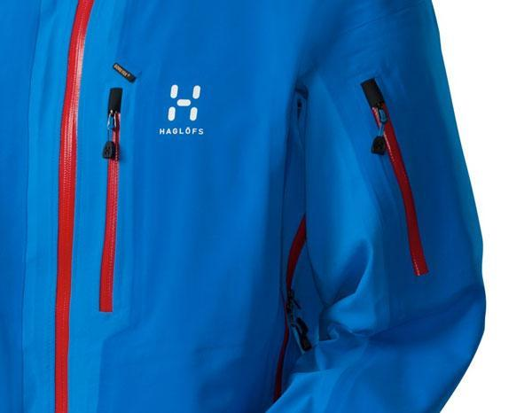 Haglofs couloir ii goretex soft shell blue buy and offers for Couloir turquoise