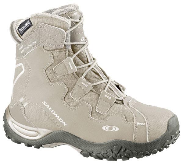 7d2a48a87955 Salomon Snowtrip TS Waterproof Sand   Light Grey