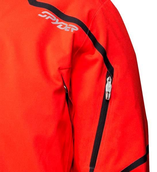 Greece Mens Spyder Esper Jacket - Ski Store Spyder Esper Volcano   Black Man 629906 P