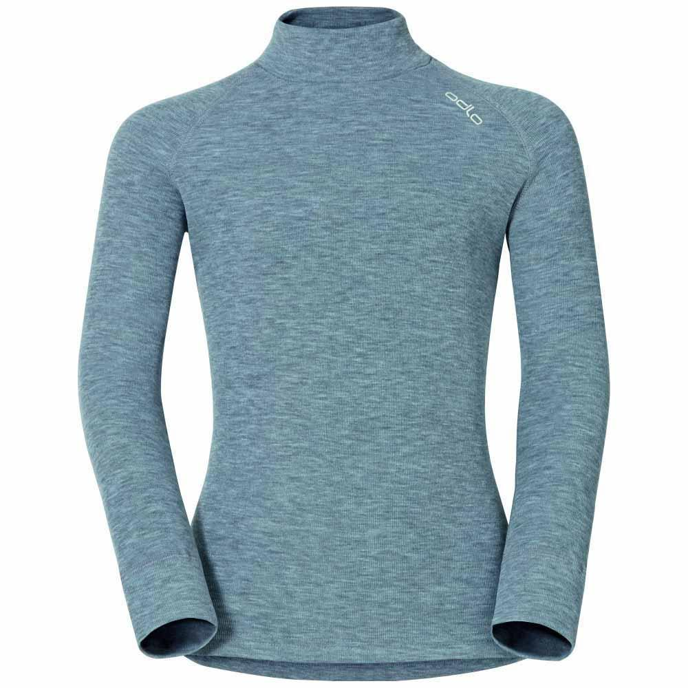 Odlo Shirt L/S Turtle Neck Warm Kids