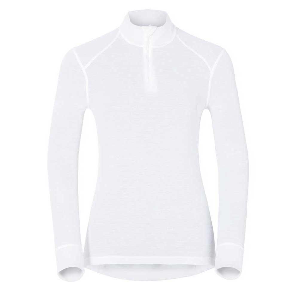 t-shirts-odlo-shirt-l-s-turtle-neck-1-2-zip-warm-s-white