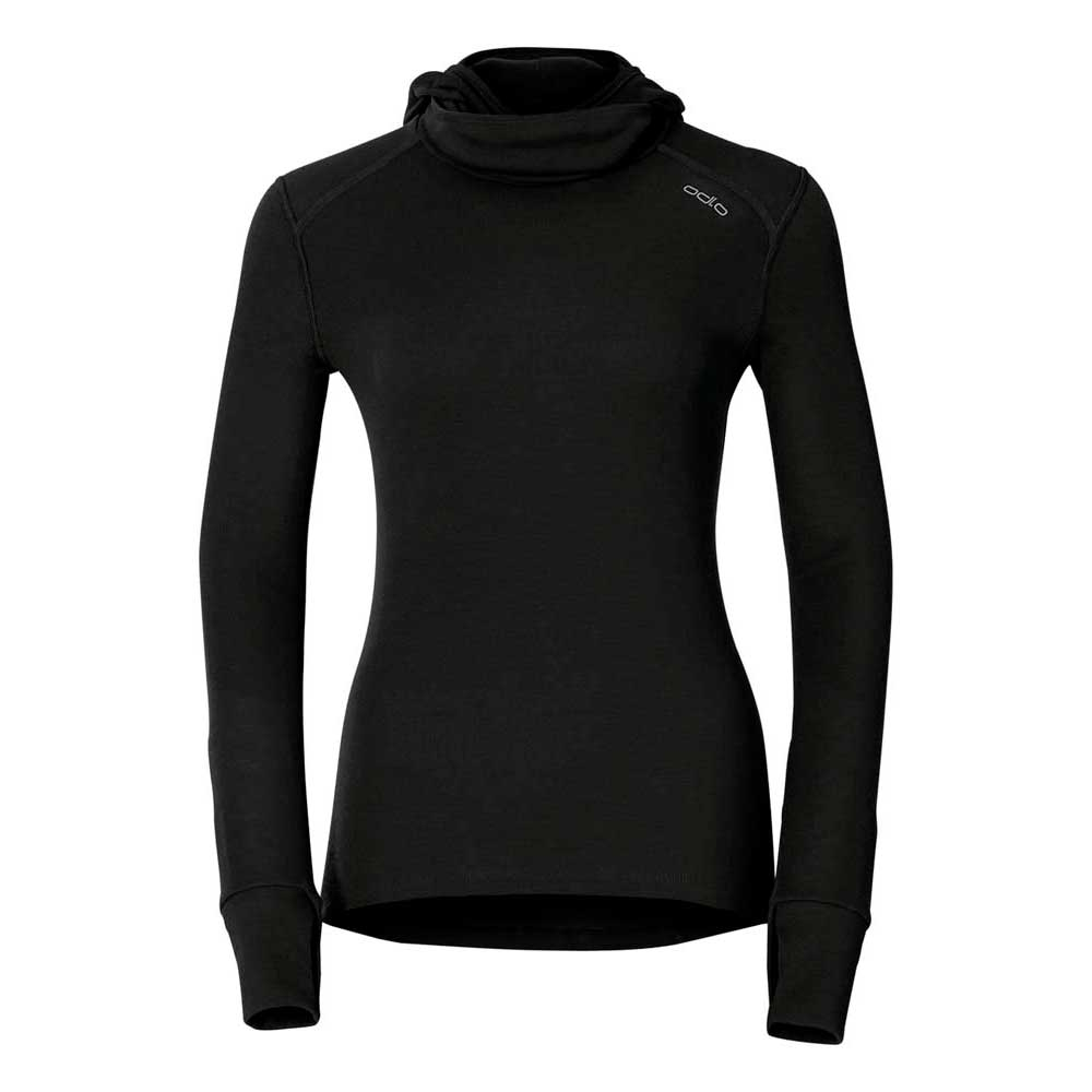 Odlo Shirt Crew Neck With Facemask Warm