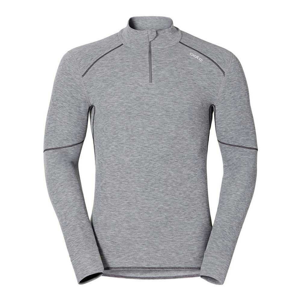 ODLO Mens Shirt L//S Turtle Neck 1//2 Zip Warm