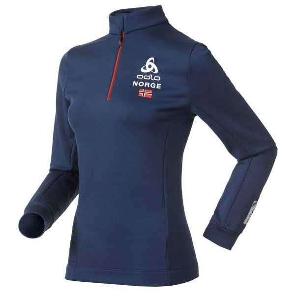 Odlo Midlayer 1/2 Zip Sugar Bowl