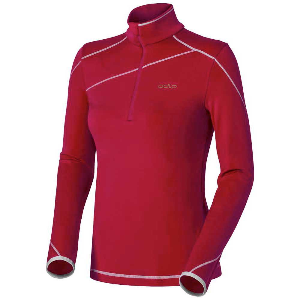 Odlo Midlayer 1/2 Zip Lightweight Flash