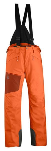 3e2253e0558c Salomon Chill Out Bib Pant Orange Glow buy and offers on Snowinn