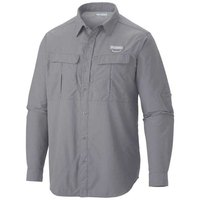 Columbia Cascades Explorer L/S Shirt Columbia Grey