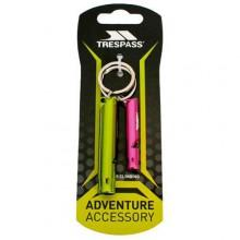Trespass Keyring Whistle Set
