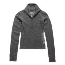 Superdry Merino Base Layer Half Zip Top