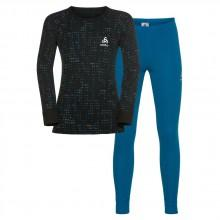 Odlo Set Warm Shirt L/S Pants Long