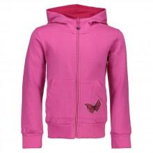 Cmp Girl Fix Hood Jacket Fleece Melange